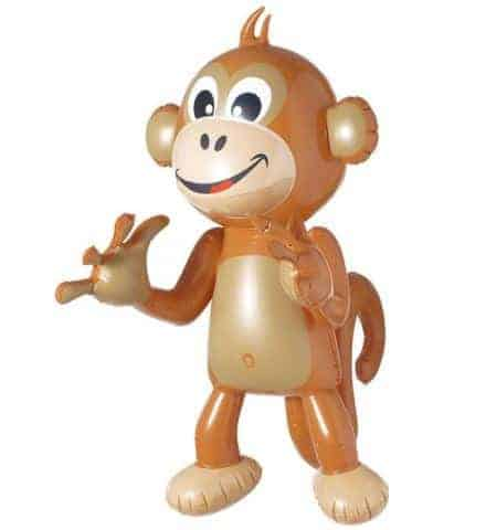 SINGE GONFLABLE (Dimension 50 cm)