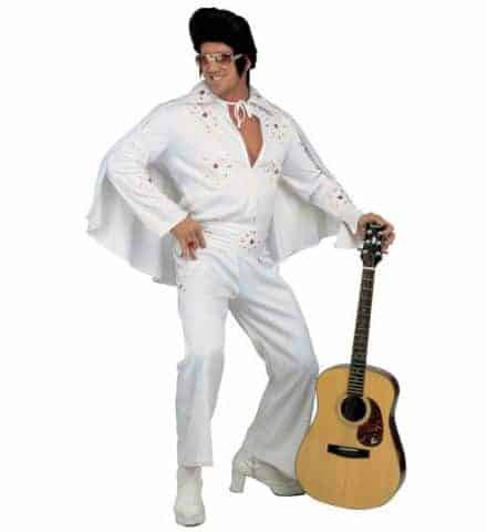 COSTUME ROI DU ROCK (Costume Elvis Presley) Tailles adultes