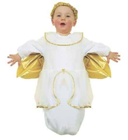 SAC A DODO PETIT ANGE (Déguisement bébé 0-9 mois)