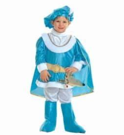 Costume petit prince azur