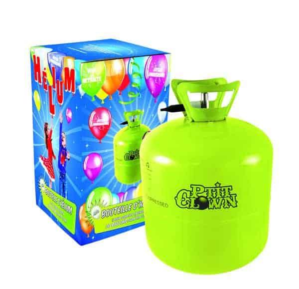 bouteille h lium jetable recharge pour 50 ballons ced. Black Bedroom Furniture Sets. Home Design Ideas