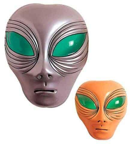 Masque alien en plastique