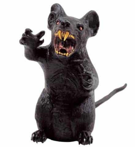 RAT AFFREUX GÉANT (Décoration 35 cm)