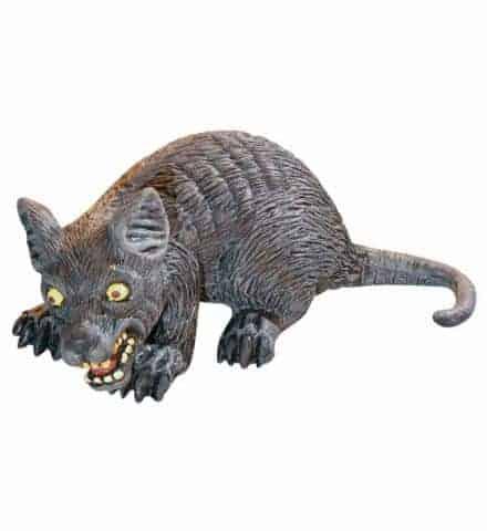 GROS RAT EFFRAYANT (Décoration 32 cm)