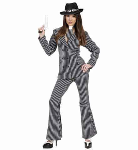 Costume femme gangster