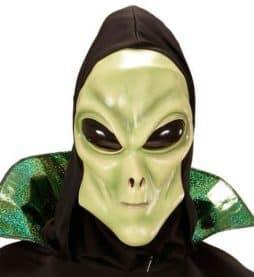 Masque alien latex enfant