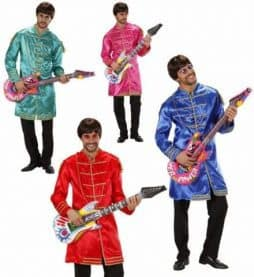 Vestes groupe pop rock