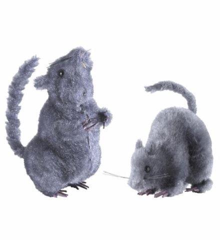 PRÉSENTOIR 12 RATS DÉCO (Taille 14 cm - 2 modèles)