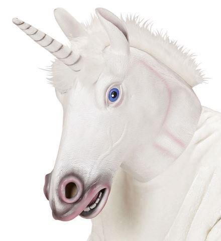 Masque licorne blanche