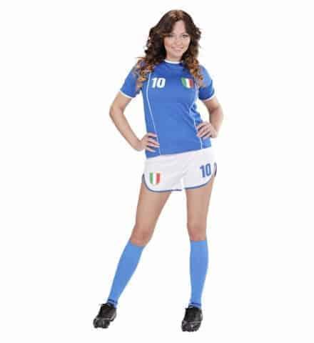 FOOTBALLEUSE ITALIENNE (Ensemble maillot et short) Tailles adultes - Démo Vidéo