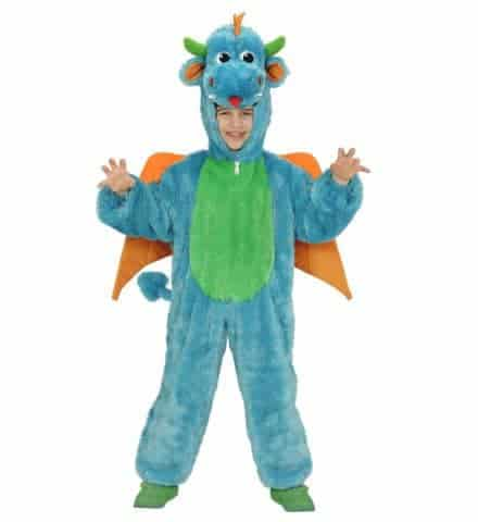 Costume dragon peluche