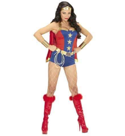 Costume femme super pouvoirs