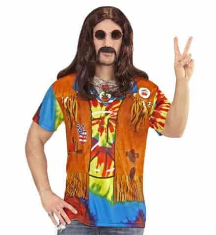 T-shirt hippie homme