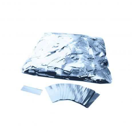 Confettis argentés métal