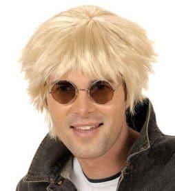 Perruque blonde britpop