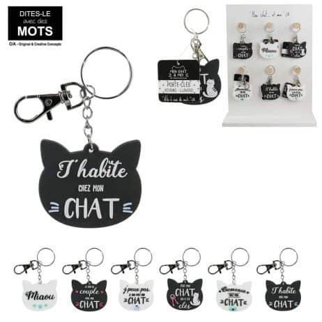 Porte clés chatons