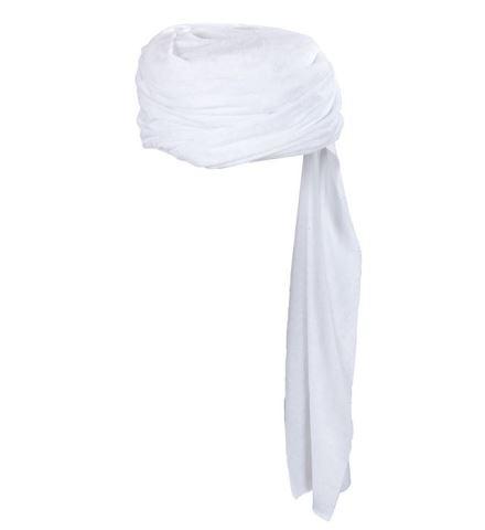 Turban arabe blanc