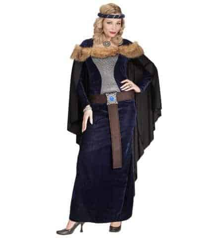 Costume princesse viking