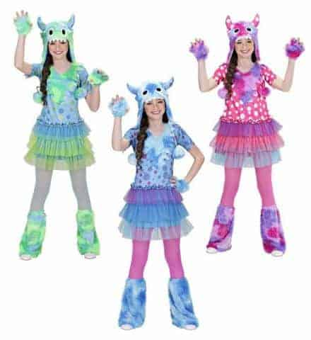 Pack costumes monster girls
