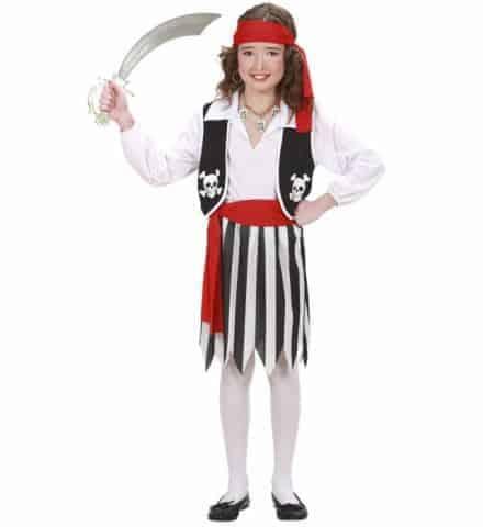 Petite fille pirate
