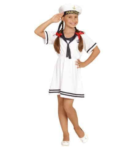 Robe fille marine