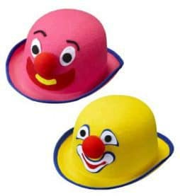 Chapeau melon clown