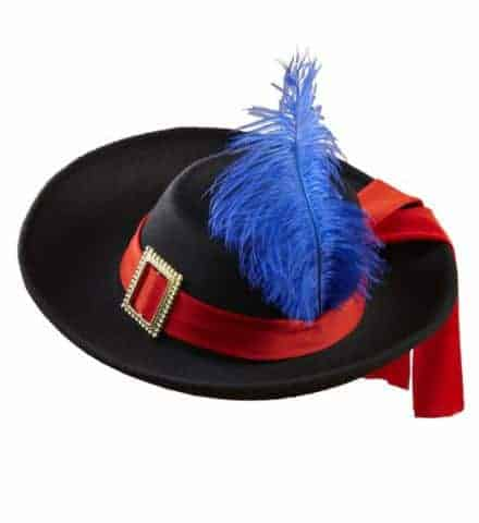 Chapeau enfant mousquetaire