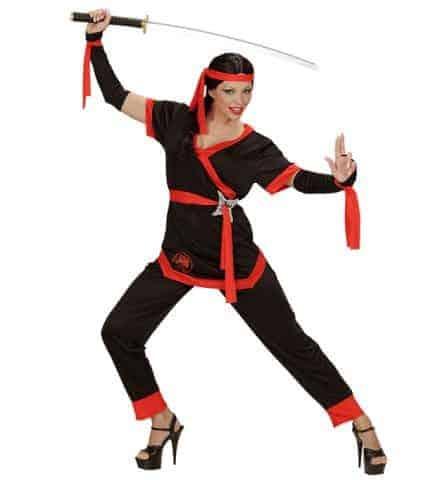 Deguisement femme ninja