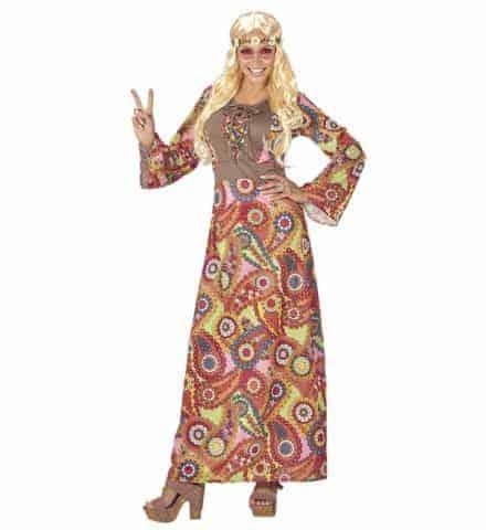 Robe longue hippie
