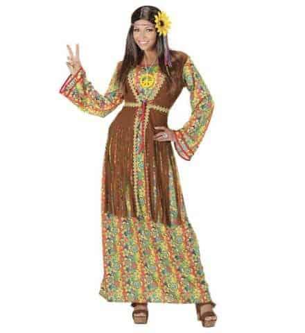 Robe longue woodstock