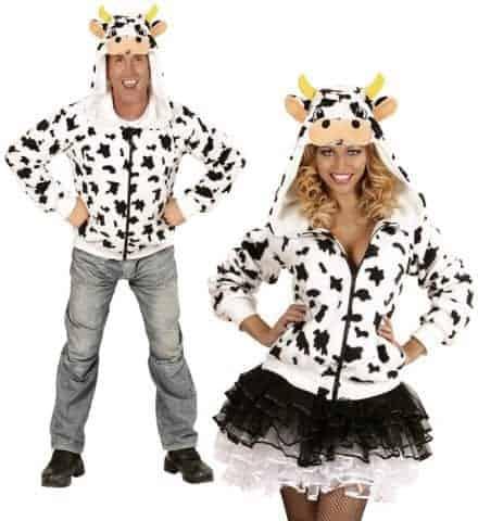 Blouson polaire vache