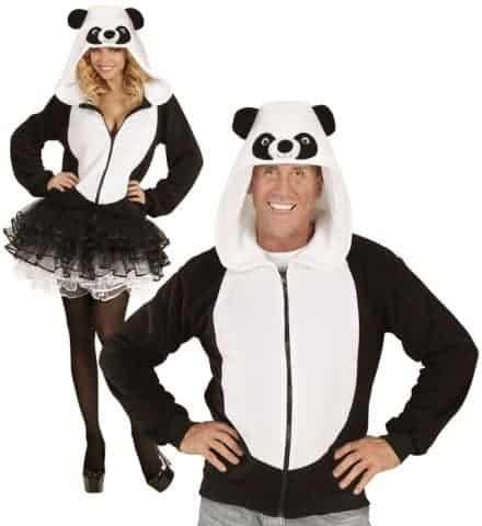 Blouson polaire panda