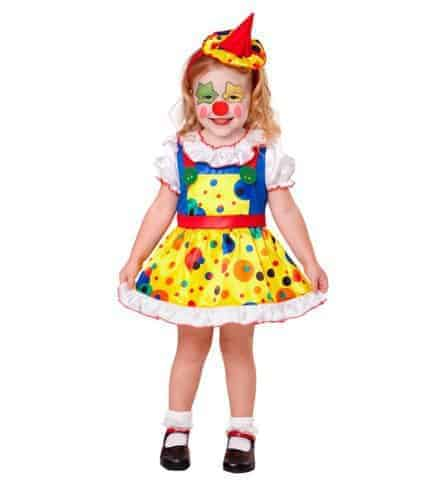 Petit fille clown