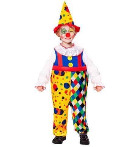 Costume de petit clown