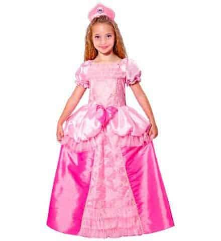 Robe rose petite licorne