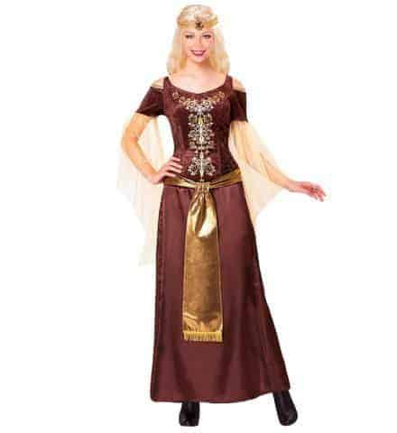 Costume reine viking