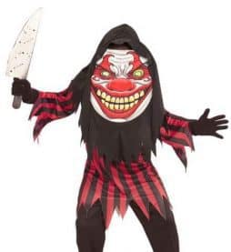 Costume clown affreux