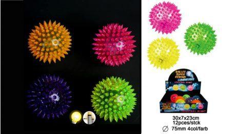 Balles lumineuses à picots