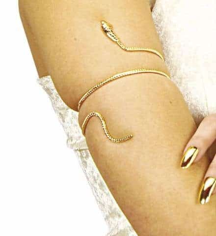 Avant bras serpent