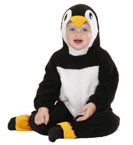 Costume bébé pingouin