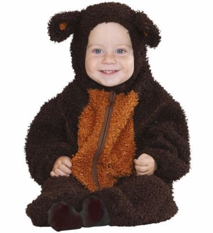 Costume ourson fuzzy