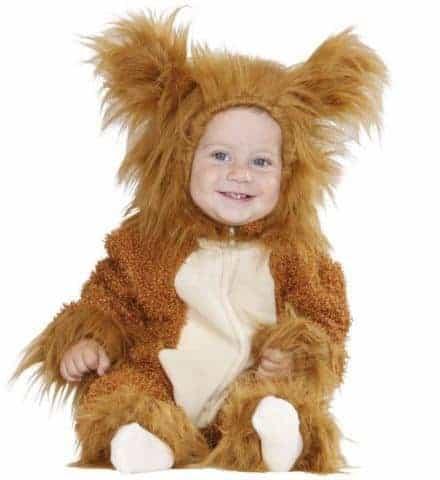 Costume bebe lionceau