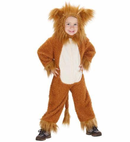 Costume lion fuzzy enfant
