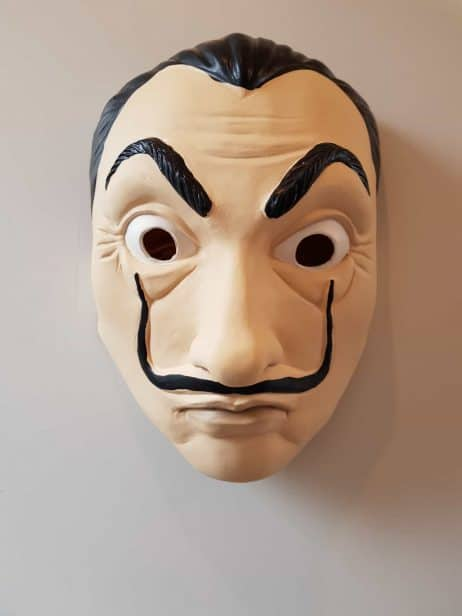 MASQUE SALVADOR DALI (Masque en latex)