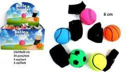 Balles a jongler pied