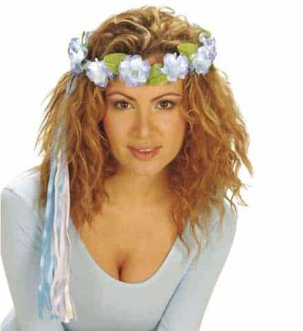 Bandeau a fleurs pour cheveux