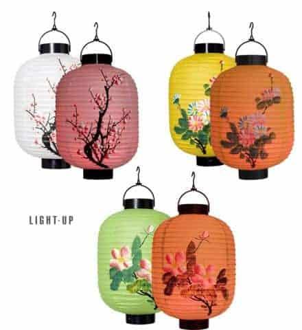 Lanterne chinoise a led