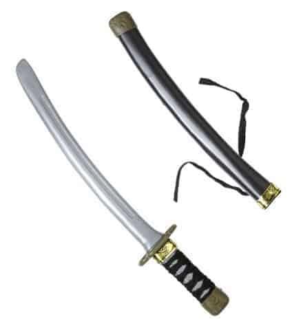 Couteau ninja avec etui