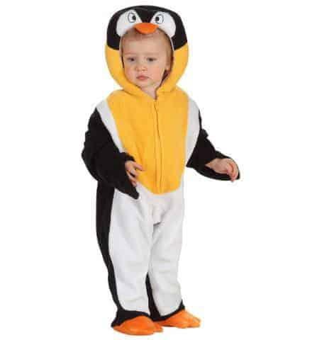 Costume de bébé pingouin