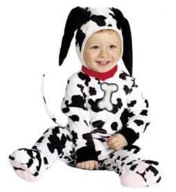 Déguisement bébé dalmatien